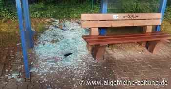 Randalierer in Bad Kreuznach zerstören Scheibe - Allgemeine Zeitung