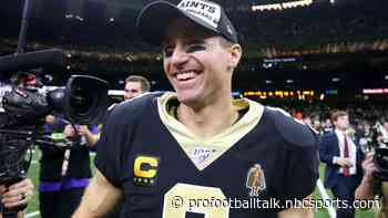 """Trump """"shocked"""" by Drew Brees comments, thinks he'll regret them"""
