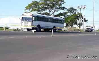 Ataque armado a bus en San Pedro Masahuat iba dirigido a pandillero - Noticias El Salvador - InformaTVX - Noticias El Salvador