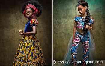 """Fotógrafos reinventam princesas tradicionais da Disney como """"realeza negra"""" - Glamour"""