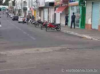 Brumado: TJ-BA determina fechamento de comércio não essencial - Voz da Bahia