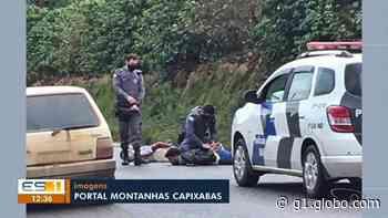 Policial militar e agente penitenciário trocam tiros em Domingos Martins, no ES - G1