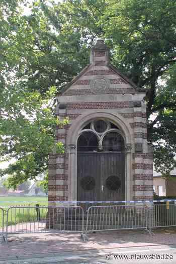 Brokstukken vallen van kapel, grondige renovatie dringt zich op