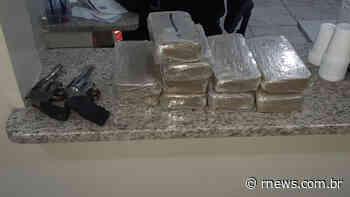 Homem que transportava droga de Caieiras (SP) para Betim (MG) foi preso pela PRF - RNews