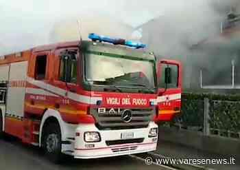 Solaro, in fiamme una villetta - Varesenews