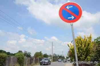Straßenverkehr Ärger über Parkverbot in Wernigerode - Volksstimme