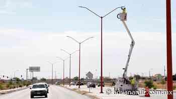 #Juarez | Programa Juárez Iluminado avanza en 14 colonias de la ciudad - Adriana Ruiz