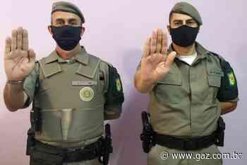 Brigada Militar de Cachoeira do Sul adere à campanha 'Sinal Vermelho' - GAZ