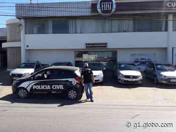 Jovem é preso tentando financiar carro com documentos falsos em Curvelo - G1
