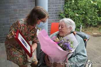 Feest voor honderdjarige Magdalena
