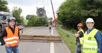 Windpark Blomberg: Die Rotoren sind da - Mitte Juli dreht sich das erste Rad | Lokale Nachrichten aus Blomberg - Lippische Landes-Zeitung