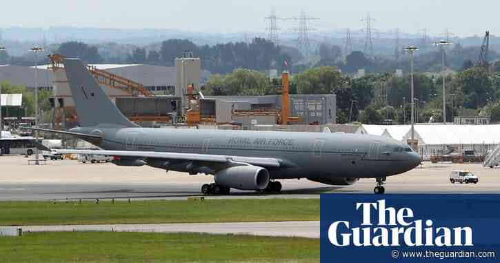 Boris Johnson repaint may ruin plane for military use, says ex-pilot