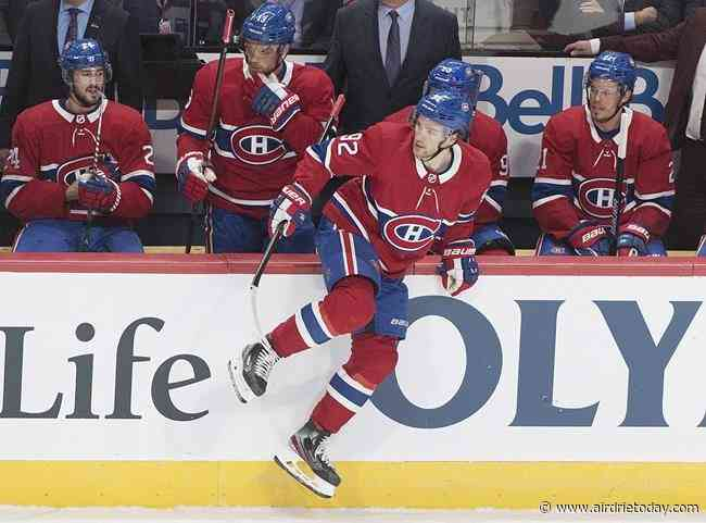 Canadiens' Drouin looking to recapture early-season form whenever NHL returns - Airdrie Today