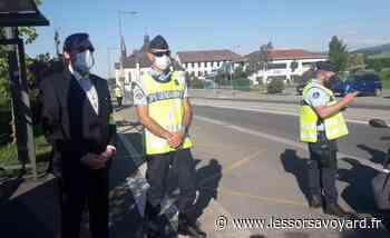 Douvaine : important dispositif de contrôle routier en ce début de week-end prolongé - lessorsavoyard.fr