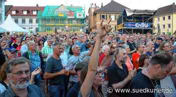 Markdorf: Markdorfer Open-Air-Festival wird auf Mai 2021 verschoben - SÜDKURIER Online
