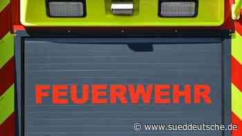 Brand in Agrargenossenschaft: Großeinsatz der Feuerwehr - Süddeutsche Zeitung