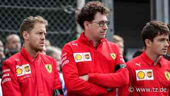 Sebastian Vettel: Nach Mercedes-Gerüchten - Nochmal Krach mit Ferrari? Intime Details enthüllt   Formel 1 - tz.de