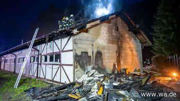 Kein schlechter Witz, sondern böse Realität: Feuerteufel wütet in Engelskirchen | Nordrhein-Westfalen - wa.de