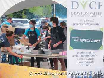 Drive-through barbecue supper at Omniplex - Drayton Valley Western Review