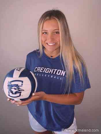 Gretna's McCune commits to Creighton volleyball | Sports - KMAland