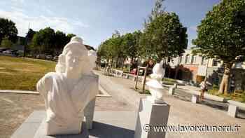 À Denain, la place Gambetta a retrouvé son aspect verdoyant d'autrefois - La Voix du Nord
