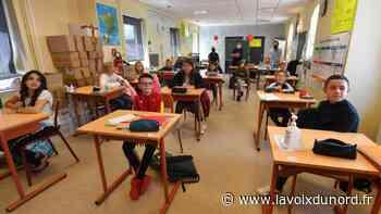Contre le coronavirus, ces écoliers d'Haubourdin règlent leurs comptes en chanson - La Voix du Nord
