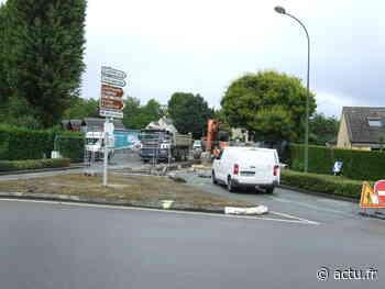 Evron : la rue de Laval fermée jusqu'à la fin de l'été - actu.fr