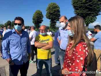 Racconigi, Chiara Gribaudo incontra i lavoratori della ex Ilva: 'La Regione pensi ai problemi veri' - Cuneodice.it