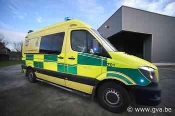 Bestuurster en minderjarige passagier gewond na ongeval - Gazet van Antwerpen