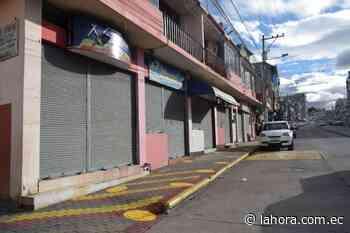 Lenta reactivación comercial en El Tambo de Pelileo - La Hora (Ecuador)