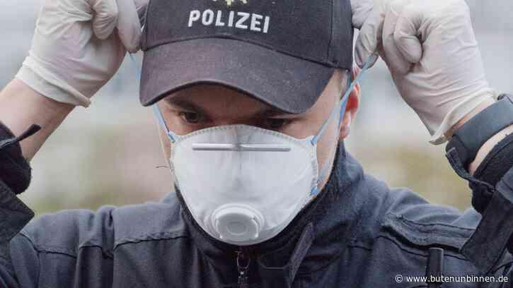Polizei löst Trauerfeier mit Corona-Infizierten in Nordenham auf - buten un binnen