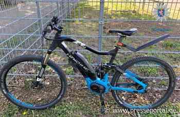 POL-DA: Ginsheim-Gustavsburg: Wem gehört das E-Bike? / Polizei bittet um Hinweise - Presseportal.de