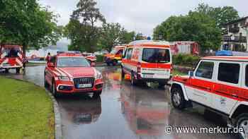 Unwetter-Einsatz am Staffelsee: Rettungskräfte holen Bootsfahrer bei Sturm und Hagel vom See - merkur.de