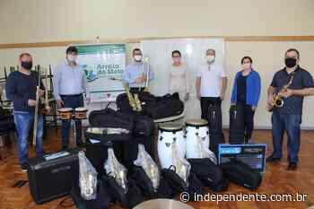 Orquestra Municipal de Arroio do Meio é contemplada com novos instrumentos - independente