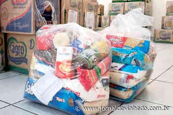 Estudantes de Vinhedo começam a receber novas cestas básicas na quinta-feira - Jornal de Vinhedo