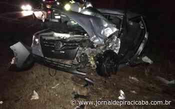 Acidente deixa quatro pessoas feridas na Rodovia Piracicaba-Rio das Pedras - jornaldepiracicaba.com.br