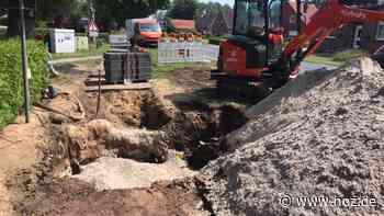 Zum Rohrbruch in Papenburg: Leitung muss dringend saniert werden - Neue Osnabrücker Zeitung