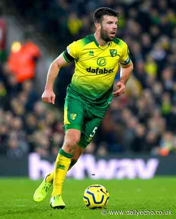 Norwich captain Grant Hanley is set to miss his side's game against Southampton - Daily Echo