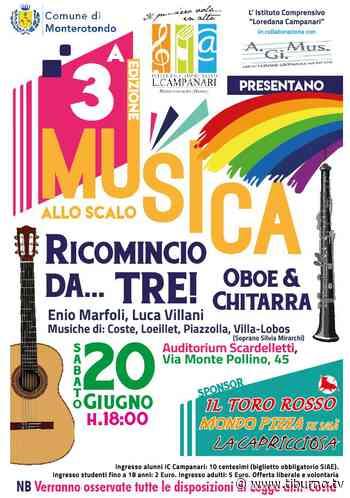 """Monterotondo suona grazie a """"Musica allo Scalo"""" - Intervista a Luca Campanari - Tiburno.tv Tiburno.tv - Tiburno.tv"""