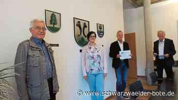 Hornberg: Hornberg freut sich über Förderung - Hornberg - Schwarzwälder Bote