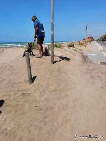 Lungomare di Ardea invaso dalla sabbia e spiagge sporche: denuncia del comitato - Il Caffè.tv