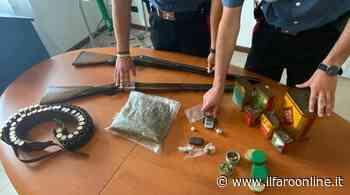 Ardea, spaccio di droga e detenzione illecita di armi: 3 persone arrestate - IlFaroOnline.it