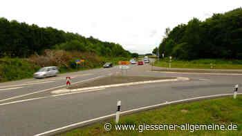 B457 bei Lich: Nun kommt der Kreisverkehr - Besondere Lösung für Hungener - Gießener Allgemeine