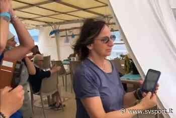 Gianna Nannini ad Andora, la cantante affascinata dalla marcia acquatica - SvSport.it