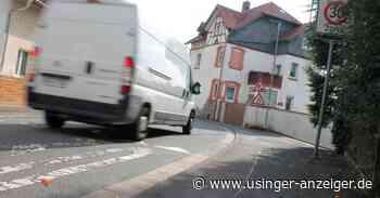 Usingen: Geschwindigkeitsbegrenzungen gehen nur langsam voran - Usinger Anzeiger