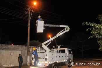 Prefeitura de Miracema realiza mutirão na iluminação pública e solicita à população que denuncie atos de vandalismo - Surgiu