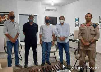 Prefeitura de Miracema e Governo do Estado viabilizam espaço físico para implantação do Corpo de Bombeiros no município - Surgiu