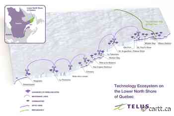 Telus delivering broadband and mobile wireless to Kegaska and La Romaine - Cartt.ca