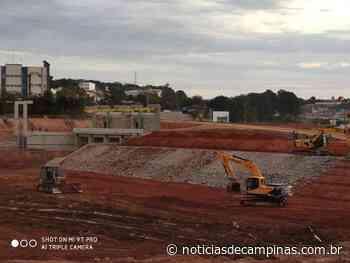Louveira da continuidade às obras da primeira represa do município - Notícias de Campinas