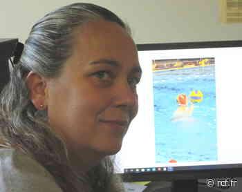 Avec Maude Jacquet, vice-présidente de l'Espérance Lédonienne, en charge des sports aquatiques. - RCF